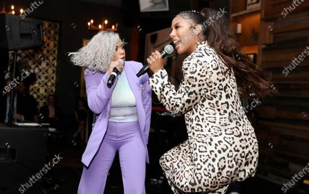 Taylor Parks and Victoria Monet