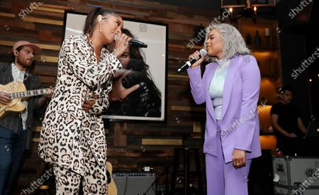 Victoria Monet and Taylor Parks