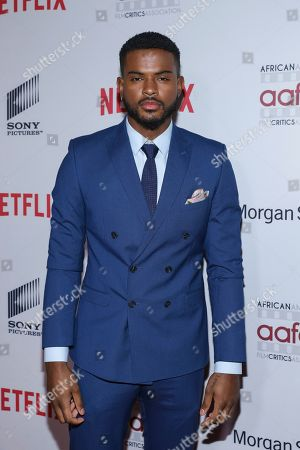 Trevor Jackson attends the 11th Annual AAFCA Awards at the Taglyan Complex, in Los Angeles