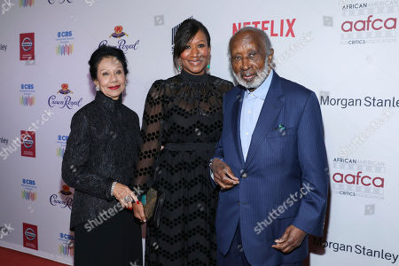 Jacqueline Avant, Nicole Avant, Clarence Avant. Jacqueline Avant, on left, Nicole Avant and Clarence Avant attend the 11th Annual AAFCA Awards at the Taglyan Complex, in Los Angeles