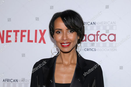 Sonia Rolland attends the 11th Annual AAFCA Awards at the Taglyan Complex, in Los Angeles