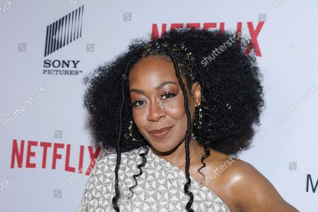 Tichina Arnold attends the 11th Annual AAFCA Awards at the Taglyan Complex, in Los Angeles