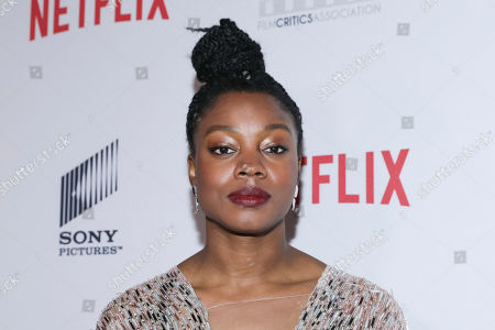 Nia DaCosta attends the 11th Annual AAFCA Awards at the Taglyan Complex, in Los Angeles