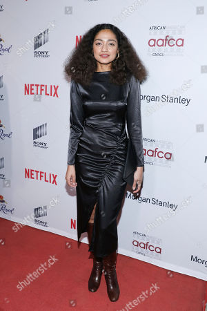 Dana Williams attends the 11th Annual AAFCA Awards at the Taglyan Complex, in Los Angeles