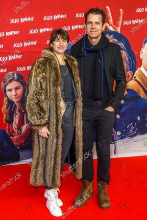 Stock Picture of Tom Tykwer and wife Marie Steinmann