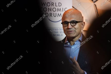 Editorial image of 50th annual meeting of the World Economic Forum in Davos, Switzerland - 23 Jan 2020