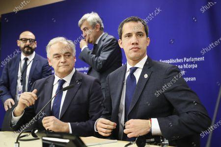Editorial picture of Venezuelan opposition leader Juan Guaido visit to European Parliament, Brussels, Belgium - 22 Jan 2020