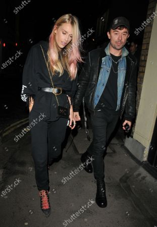 Stock Picture of Mary Charteris and Robbie Furze
