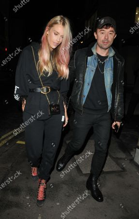 Stock Photo of Mary Charteris and Robbie Furze