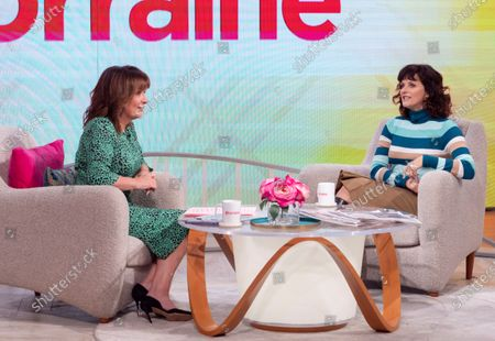 Stock Picture of Lorraine Kelly and Sian Reeves