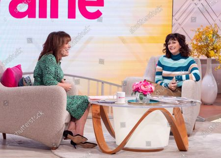 Lorraine Kelly and Sian Reeves
