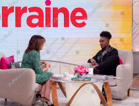 Stock Picture of Lorraine Kelly and Dalton Harris