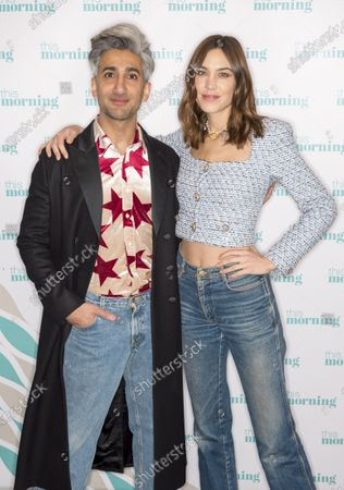Stock Picture of Tan France and Alexa Chung