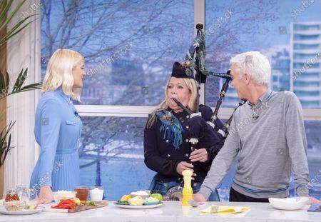 Editorial image of 'This Morning' TV show, London, UK - 23 Jan 2020