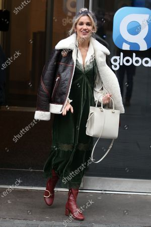 Ashley Roberts at Global Radio