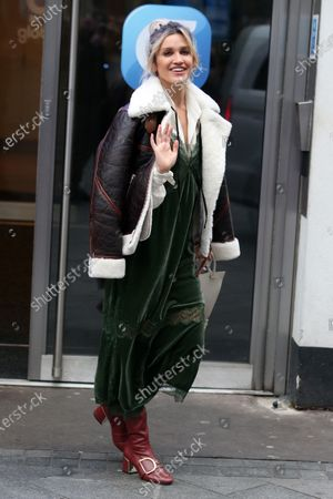 Editorial image of Ashley Roberts out and about, London, UK - 23 Jan 2020