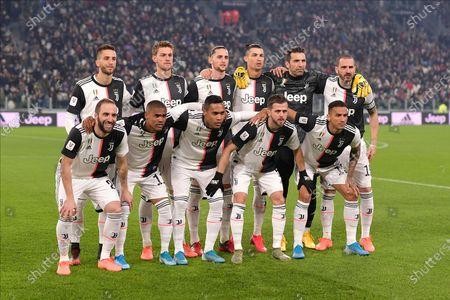 Editorial image of Juventus v Roma, Coppa Italia, Quarter-final, Football, Allianz Stadium, Turin, Italy - 22 Jan 2020