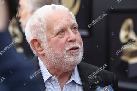 Ken Ehrlich at the 60th annual Grammy Awards red carpet roll out in New York. After 40 years of producing the awards show, Ehrlich's last Grammy Awards will be on Sunday