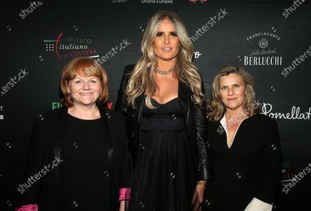 Lesley Nicol, Tiziana Rocca, Valeria Rumori