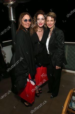 Maria Sole Tognazzi, Claudia Gerini and Silvia Chiave