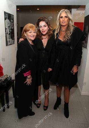 Lesley Nicol, Claudia Gerini and Tiziana Rocca