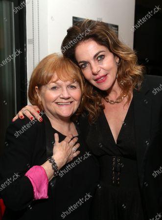 Lesley Nicol and Claudia Gerini