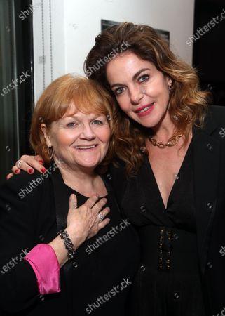 Stock Photo of Lesley Nicol and Claudia Gerini