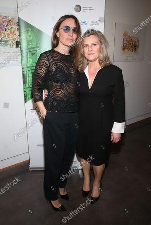 Maria Sole Tognazzi and Valeria Rumori
