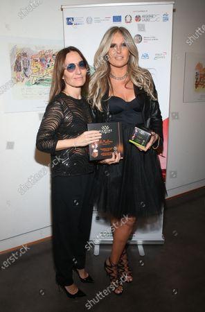 Maria Sole Tognazzi and Tiziana Rocca