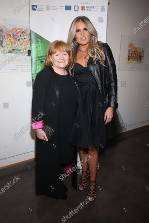 Lesley Nicol and Tiziana Rocca