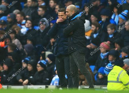 Editorial picture of Manchester City v Fulham, Emirates FA Cup Fourth Round, Football, Etihad Stadium, Manchester, UK - 26 Jan 2020
