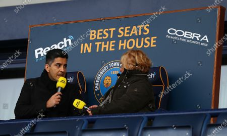 Editorial image of Shrewsbury Town v Liverpool, Emirates FA Cup Fourth Round, Football, Montgomery Waters Meadow, UK - 26 Jan 2020