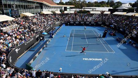 Editorial image of Australian Open Tennis, Melbourne, Australia - 23 Jan 2020