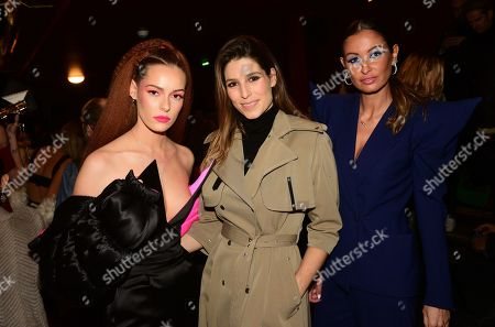 Stock Photo of Maeva Coucke, Laury Thilleman, Malika Menard