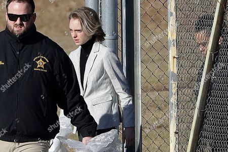 Stock Picture of Michelle Carter leaves the Bristol County jail, in Dartmouth, Mass., after serving most of a 15-month manslaughter sentence for urging her suicidal boyfriend to kill himself in 2014. The 23-year-old, released three months early for good behavior, will serve five years of probation