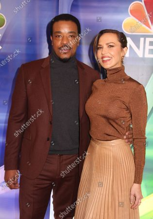 Russell Hornsby and Arielle Kebbel