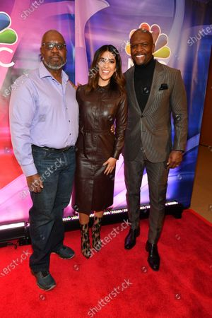 Andre Braugher, Stephanie Beatriz and Terry Crews