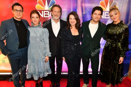 Daniel Levy, Jessy Hodges, Steven Weber, Fran Drescher, Adam Pally and Abby Elliott