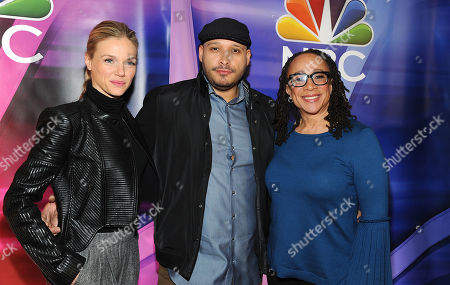 Tracy Spiridakos, Joe Minoso and S. Epatha Merkerson