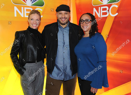 Stock Image of Tracy Spiridakos, Joe Minoso and S. Epatha Merkerson