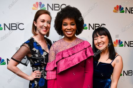 Allison Hord, Amber Ruffin and Karen Chee