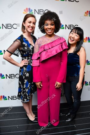 Stock Photo of Allison Hord, Amber Ruffin and Karen Chee