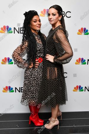 Freema Agyeman and Ana Villafane