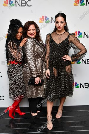Freema Agyeman, Dierdre Friel and Ana Villafane