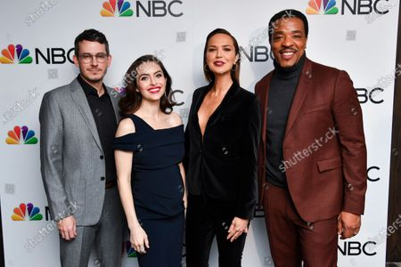 Stock Photo of Tate Ellington, Brooke Lyons, Arielle Kebbel and Russell Hornsby