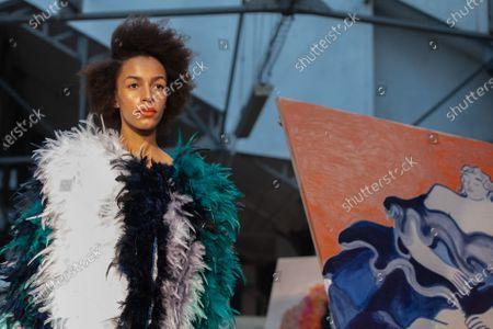 Editorial photo of Xuan - Runway - Paris Fashion Week Haute Couture S/S 2020, France - 23 Jan 2020