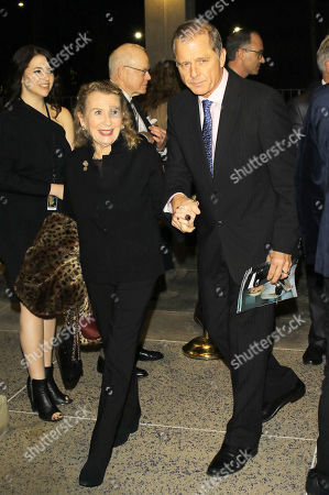 Editorial photo of Maxwell Caulfield and Juliet Mills out and about, Los Angeles, USA - 22 Jan 2020
