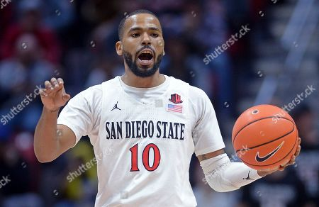 Editorial image of SDSU Trio of Transfers Basketball, San Diego, USA - 28 Dec 2019