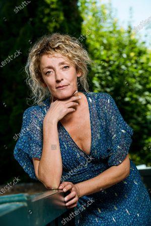 Editorial photo of Juliette Arnaud portrait session, Loire valley, France - 25 Aug 2019