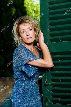 Stock Image of Juliette Arnaud is a French actress, screenwriter, radio columnist and television host.